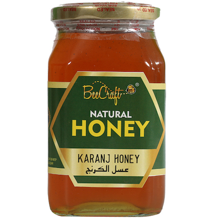 karanj honey beecraft honey