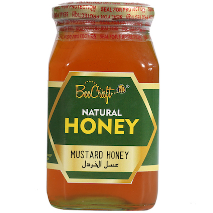 mustard honey beecraft honey