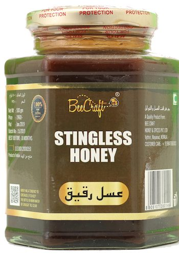 stingless honey beecraft honey